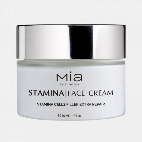 Αντιρυτιδική κρέμα προσώπου Mia Cosmetics Stamina Face Cream 50ml