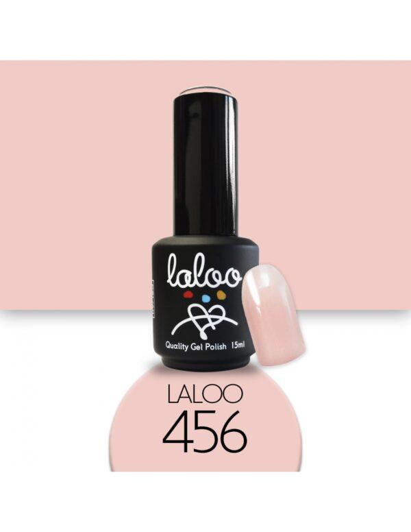 Ημιμόνιμο βερνίκι Laloo Cosmetics 15ml - N.456 Nude