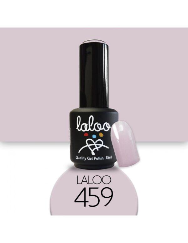 Ημιμόνιμο βερνίκι Laloo Cosmetics 15ml - N.459 Nude που μπεζίζει