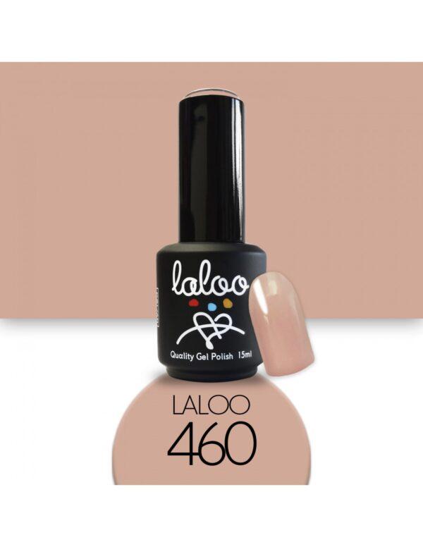 Ημιμόνιμο βερνίκι Laloo Cosmetics 15ml - N.460 Camouflage σκούρο