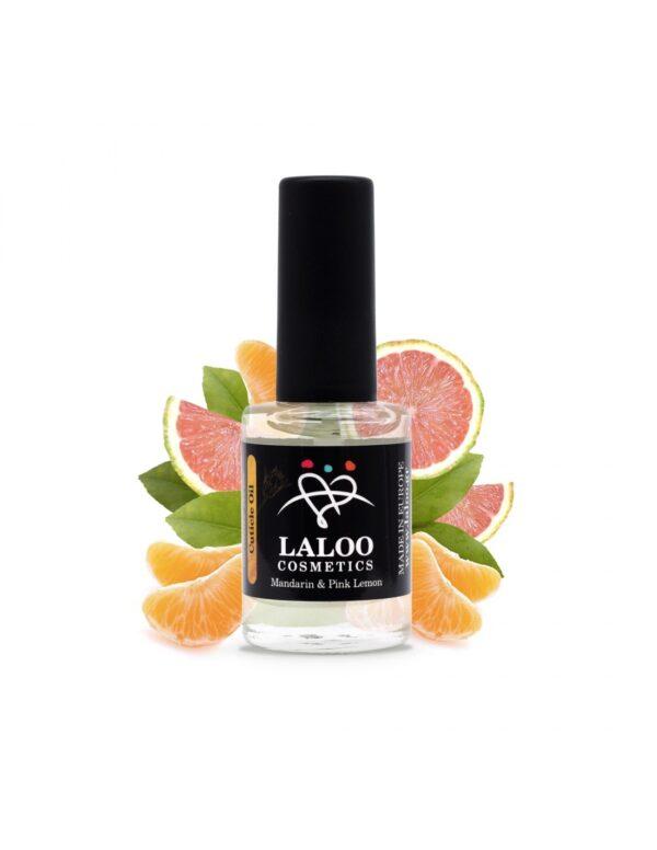 Λαδάκι επωνυχίων Laloo Cosmetics Mandarin & Pink Lemon 15ml