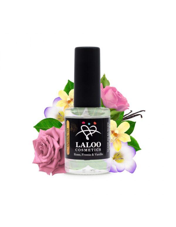 Λαδάκι επωνυχίων Laloo Cosmetics Roses, Freesia & Vanilla 15ml