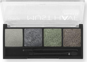 Παλέτα σκιών Grigi Must Have Palette - Metallic High Shine 08