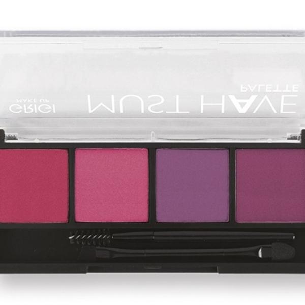 Παλέτα σκιών Grigi Must Have Palette – Pink Purle 14