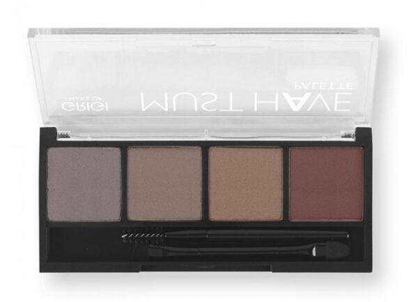 Παλέτα σκιών Grigi Must Have Palette - All Day Nude 04
