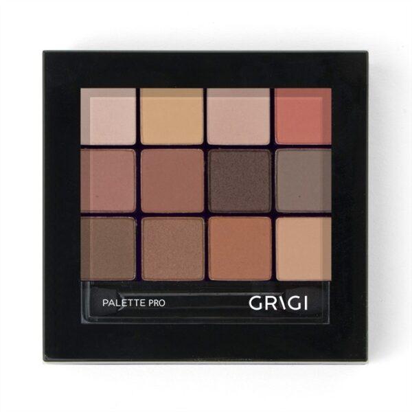 Παλέτα σκιών Grigi Pro Palette - Cookies and Brownies 45 01