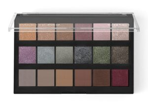Παλέτα σκιών Grigi Pro Palette - The Metallic Collection