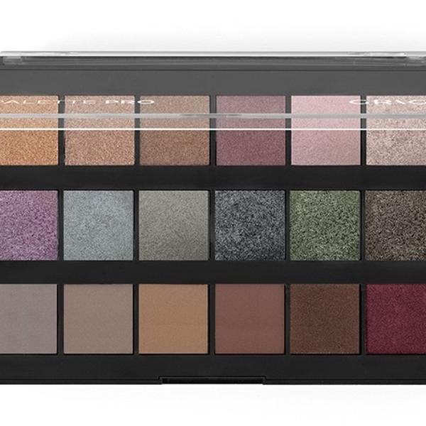 Παλέτα σκιών Grigi Pro Palette – The Metallic Collection