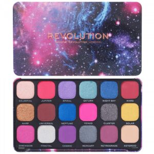 Παλέτα σκιών Makeup Revolution Forever Flawless Eyeshadow Palette - Constellation