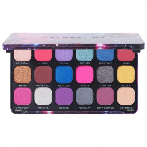 Παλέτα σκιών Makeup Revolution Forever Flawless Eyeshadow Palette - Constellation