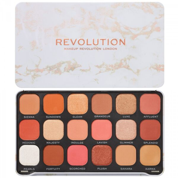 Παλέτα σκιών Makeup Revolution Forever Flawless Eyeshadow Palette - Decadent
