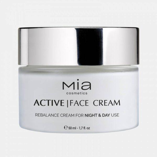 24ωρη ματ κρέμα προσώπου Mia Cosmetics Active Face Cream 50ml