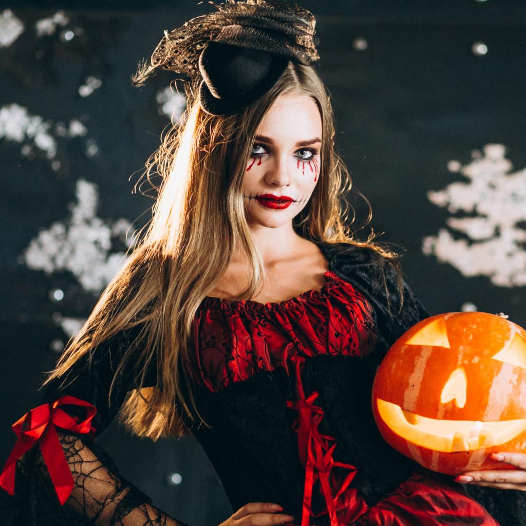Halloween make up blog post