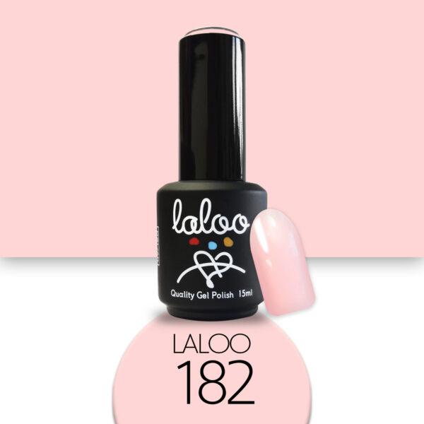 Ημιμόνιμο βερνίκι Laloo Cosmetics 15ml - N.182 Nude (προς το σομόν)