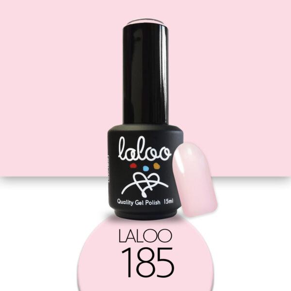 Ημιμόνιμο βερνίκι Laloo Cosmetics 15ml - N.185 Baby ροζ