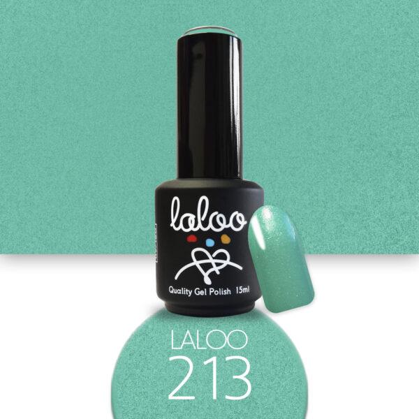 Ημιμόνιμο βερνίκι Laloo Cosmetics 15ml - N.213 Veramant με shimmer