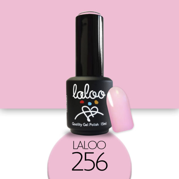Ημιμόνιμο βερνίκι Laloo Cosmetics 15ml - N.256 Ροζ σκούρο