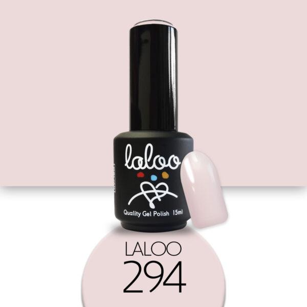 Ημιμόνιμο βερνίκι Laloo Cosmetics 15ml - N.294 Nude