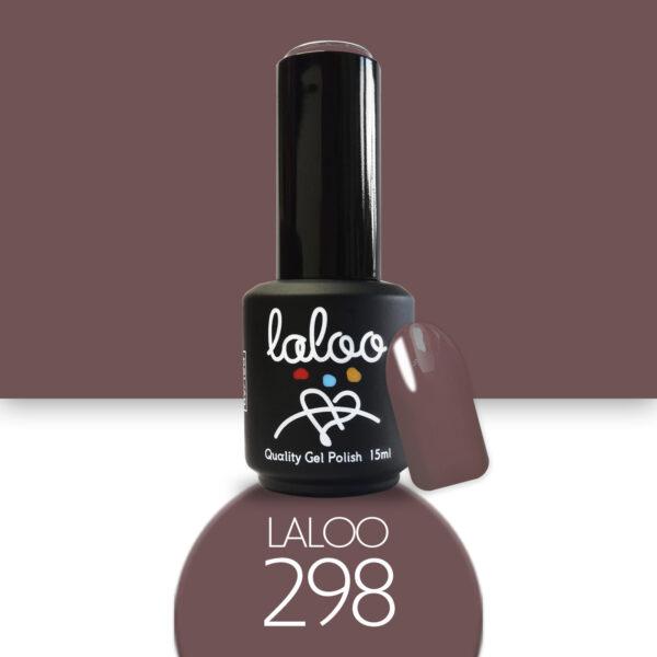 Ημιμόνιμο βερνίκι Laloo Cosmetics 15ml - N.298 Σάπιο μήλο που καφετίζει ελαφρώς