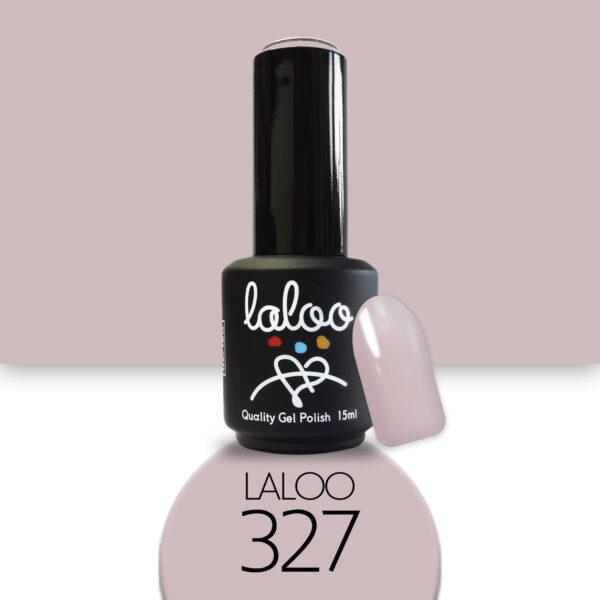Ημιμόνιμο βερνίκι Laloo Cosmetics 15ml - N.327 Nude