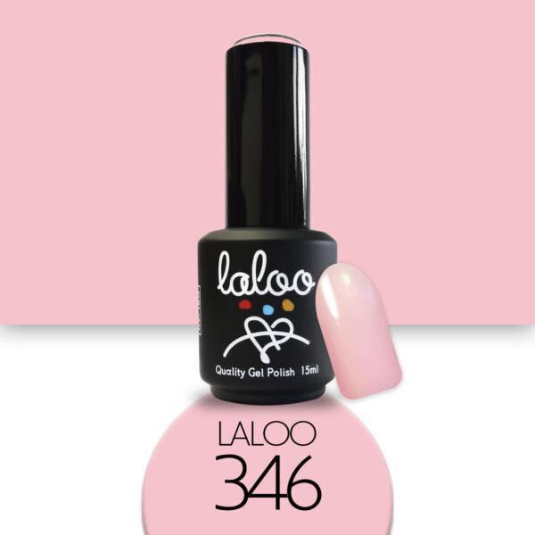 Ημιμόνιμο βερνίκι Laloo Cosmetics 15ml - N.346 Ροζ σομόν
