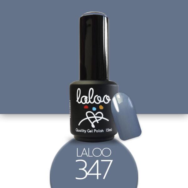 Ημιμόνιμο βερνίκι Laloo Cosmetics 15ml - N.347 Μπλε raf