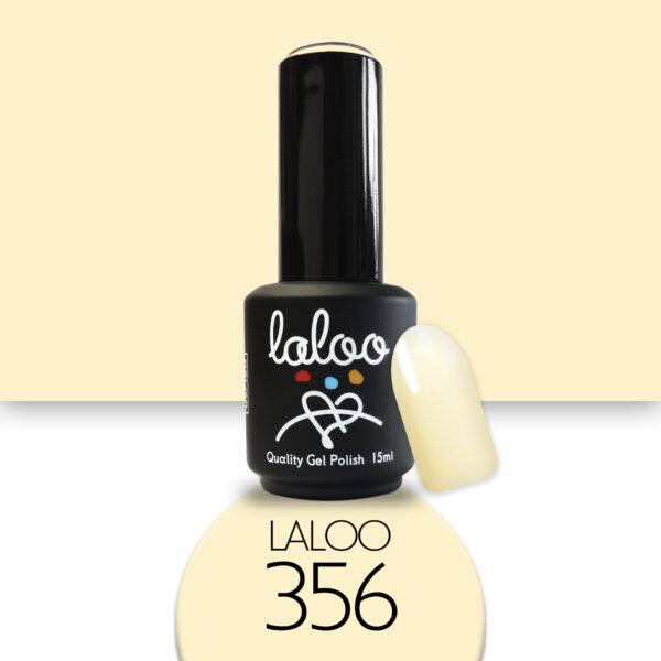 Ημιμόνιμο βερνίκι Laloo Cosmetics 15ml - N.356 Κίτρινο παστέλ