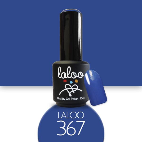 Ημιμόνιμο βερνίκι Laloo Cosmetics 15ml - N.367 Μπλε ρουά