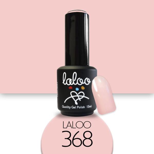Ημιμόνιμο βερνίκι Laloo Cosmetics 15ml - N.368 Nude σομόν