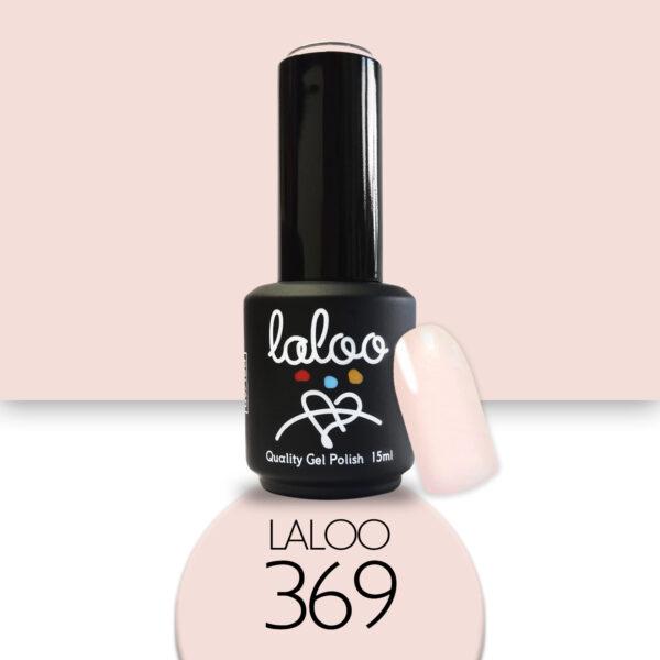 Ημιμόνιμο βερνίκι Laloo Cosmetics 15ml - N.369 Βερυκοκί πολύ ανοιχτό παλ