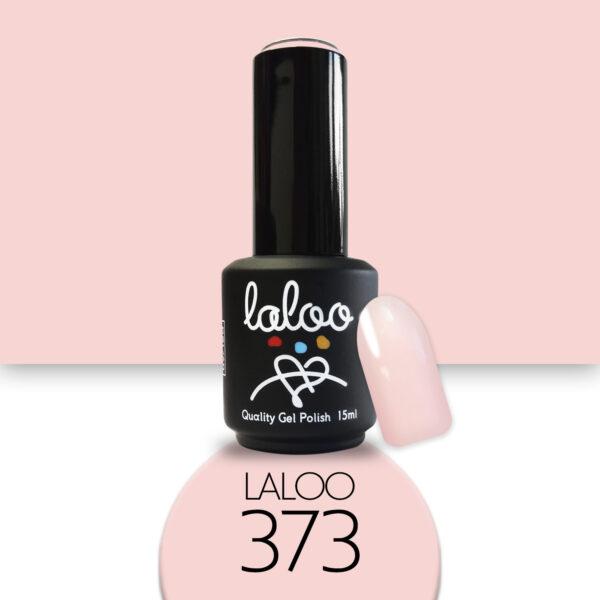 Ημιμόνιμο βερνίκι Laloo Cosmetics 15ml - N.373 Baby Pink, πολύ ροζ ανοιχτό