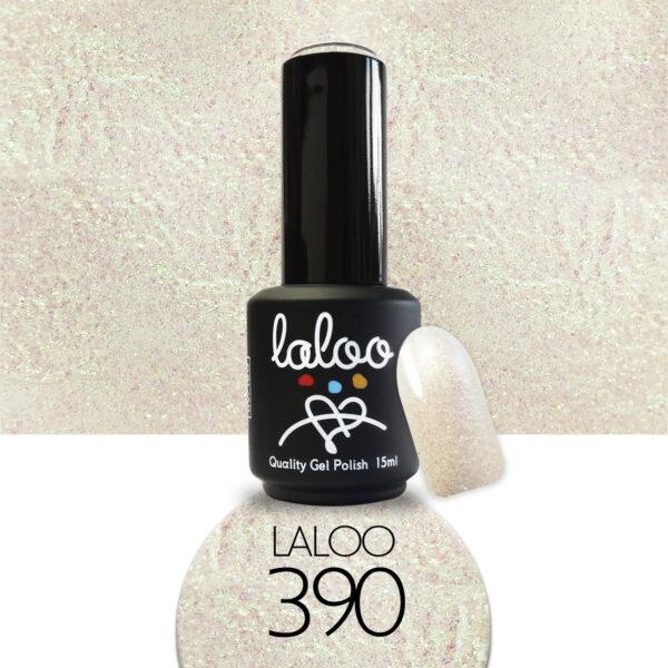 Ημιμόνιμο βερνίκι Laloo Cosmetics 15ml - N.390 Χρυσό ιριδίζον shimmer
