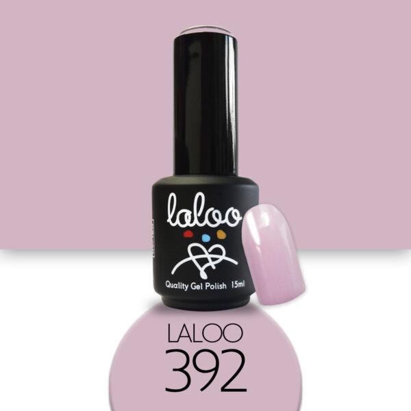 Ημιμόνιμο βερνίκι Laloo Cosmetics 15ml - N.392 Ροζ σάπιο μήλο που μωβίζει
