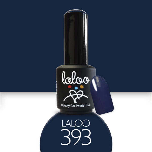 Ημιμόνιμο βερνίκι Laloo Cosmetics 15ml - N.393 Navy Blue