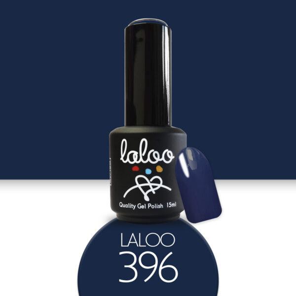 Ημιμόνιμο βερνίκι Laloo Cosmetics 15ml - N.396 Μπλε σκούρο