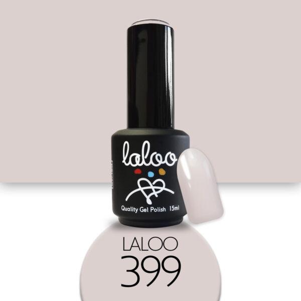 Ημιμόνιμο βερνίκι Laloo Cosmetics 15ml - N.399 Μπεζ της άμμου ανοιχτό
