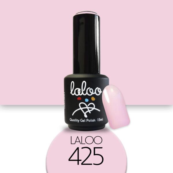 Ημιμόνιμο βερνίκι Laloo Cosmetics 15ml - N.425 Ροζ
