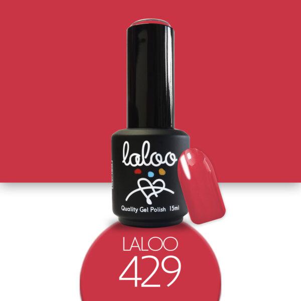 Ημιμόνιμο βερνίκι Laloo Cosmetics 15ml - N.429 Κοραλί