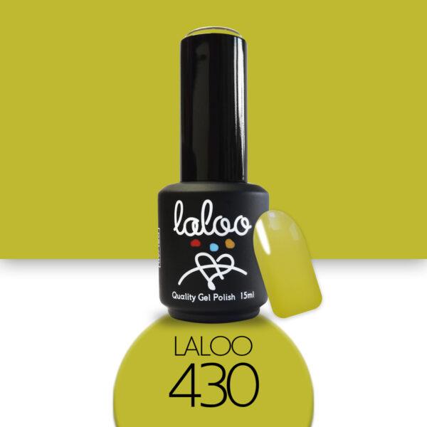 Ημιμόνιμο βερνίκι Laloo Cosmetics 15ml - N.430 Μουσταρδί λαδί