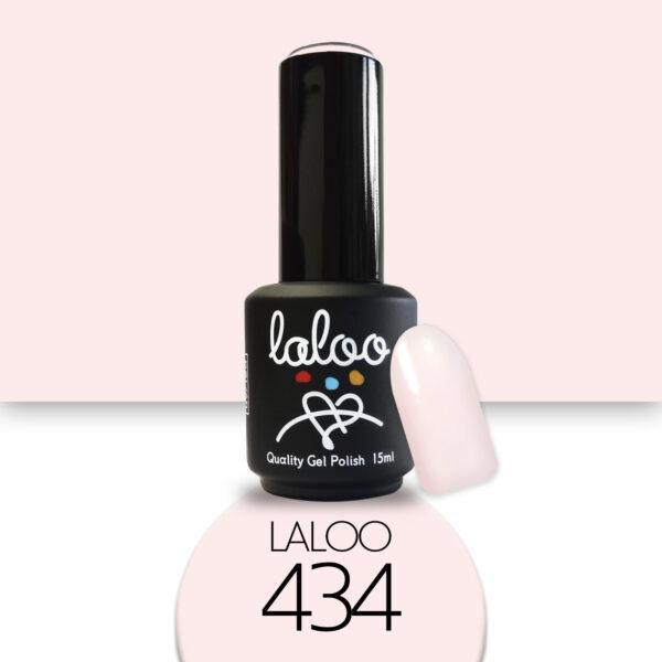 Ημιμόνιμο βερνίκι Laloo Cosmetics 15ml - N.434 Σομόν nude
