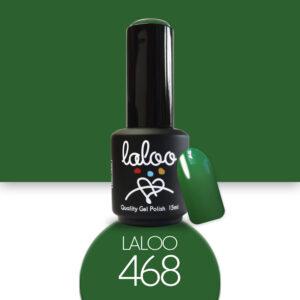 Ημιμόνιμο βερνίκι Laloo Cosmetics 15ml - N.468 Πράσινο