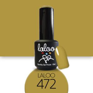 Ημιμόνιμο βερνίκι Laloo Cosmetics 15ml - N.472 Μουσταρδί ανοιχτό