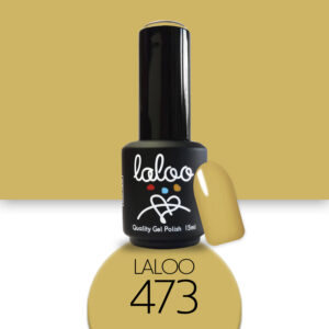 Ημιμόνιμο βερνίκι Laloo Cosmetics 15ml - N.473 Μουσταρδί πολύ ανοιχτό
