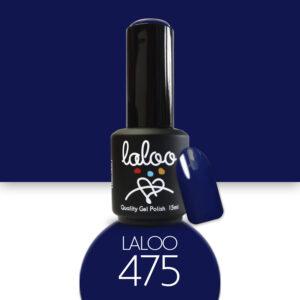 Ημιμόνιμο βερνίκι Laloo Cosmetics 15ml - N.475 Μπλε