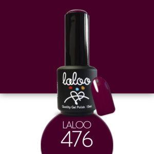 Ημιμόνιμο βερνίκι Laloo Cosmetics 15ml - N.476 Μπορντώ κόκκινο σκούρο