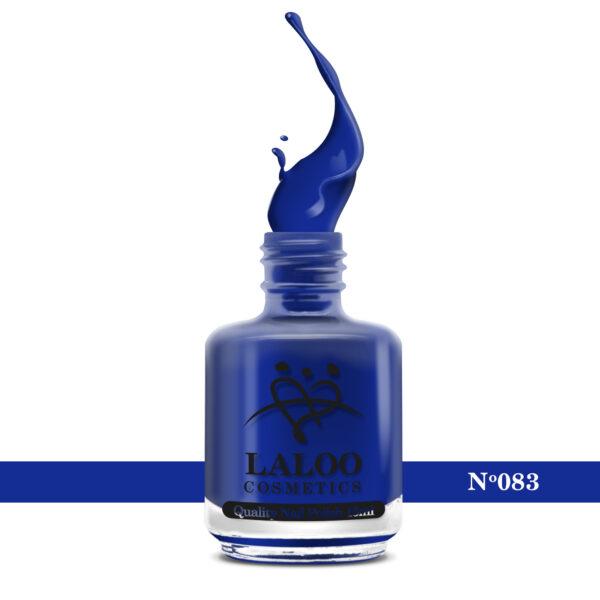 Απλό βερνίκι Laloo Cosmetics 15ml - N.83 Μπλε