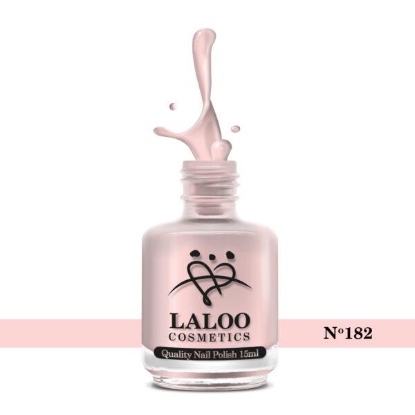 Απλό βερνίκι Laloo Cosmetics 15ml - N.182 Nude (προς το σομόν)