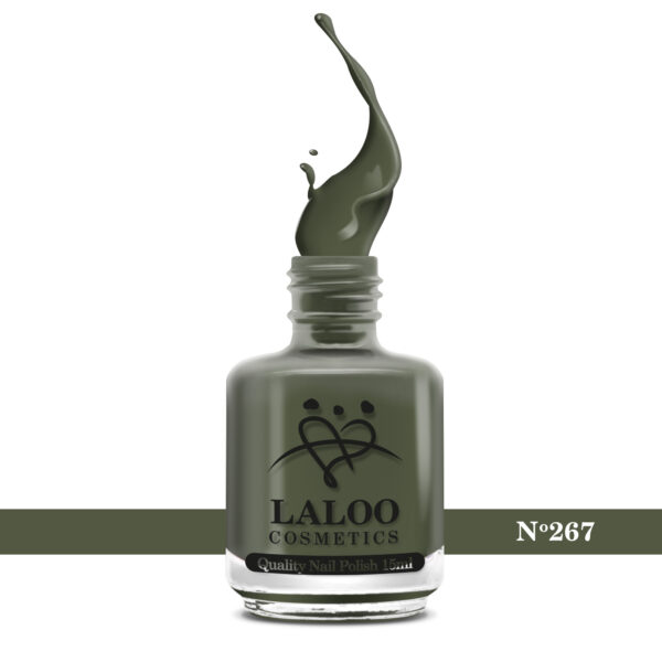 Απλό βερνίκι Laloo Cosmetics 15ml - N.267 Λαδί