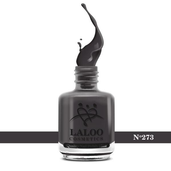 Απλό βερνίκι Laloo Cosmetics 15ml - N.273 Καφέ γκρι του πούρου