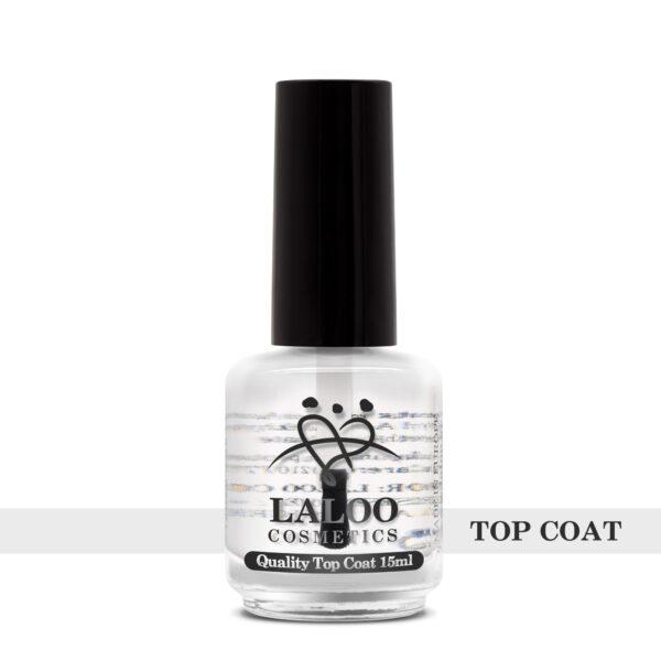 Top Coat για απλό βερνίκι Laloo Cosmetics 15ml